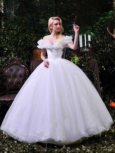 Cinderella Ball Gown Wedding Dresses | Ball Gown Tulle Dreamy Cinderella Weding…