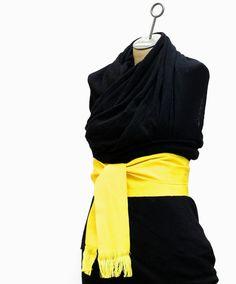 Sash Belt  Boho Chic Fashion  Chakra Color  by brizel4TheAnimals