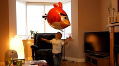 Angry Birds Air Swimmers TURBO a package from Auntie Brenda