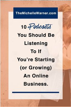 Podcasts are one of my favorite ways to stay on top of what's new in the online business and blogging world, and to find inspiration and community. Click through to see which are my favorite 10 shows. << Michelle Warner // podcasts