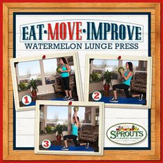 Get fit without buying equipment or a gym membership! Just shop at Sprouts ;) #EatMoveImprove