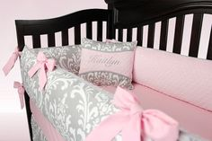KAITLYN 5 Piece Bedding Set by BloomingBabyBedding on Etsy, $309.00