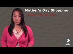 Chances are you've got some shopping to do for your Mom this weekend, and Stephanie's got some tips to make you a smarter, savvier shopper.