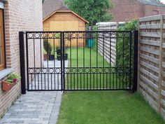 Steel Gate Design, Iron Gate Design, House Gate Design, Fence Design, Side Gates, Front Gates, Entrance Gates, Metal Gates, Wrought Iron Gates