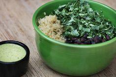 I AM GRATEFUL bowl from Cafe Gratitude