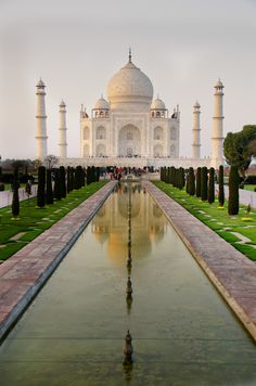 Taj Mahal, viajes, lugares, indu, India by Fran Ojeda Beautiful Places In The World, Places Around The World, Oh The Places You'll Go, Travel Around The World, Wonderful Places, Places To Travel, Places To Visit, Around The Worlds, Amazing Places