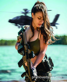 Image may contain: one or more people and outdoor Estilo Cholo, Warrior Girl, Warrior Women, Military Girl, Military Women, Armada, Cute Girl Face, Badass Women, Female Poses