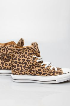 Converse All Star Dames - Converse All Star Chuck Taylor High - Cheetah