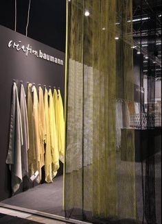 Pastels is very on trend at the moment. We love these coloured fabrics by Creative Baumann. #2017sff #design #interiordesign