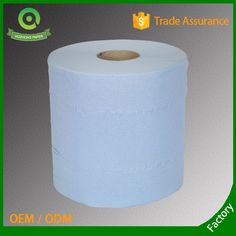 2 Ply Blue Embossed Paper Hand Towel Roll for UK