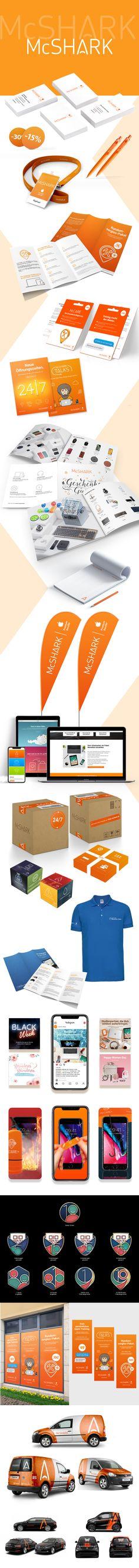McShark - Corporate Design - designed by Designerpart - www.designerpart.com
