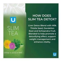 The newest product from Revital U, Slim Tea is a proprietary blend of plant ingredients that help you cleanse, detox and reset your digestive balance, support liver health and promote beneficial gut microflora for a healthier and slimmer you.*  An all in one cleanse, detox and slimming tea that works while you sleep! Detox Tea, Cleanse Detox, Thistle Seed, Coffee Box, Weight Loss Tea, Liver Detox, Tea Blends, Weight Management, Slim