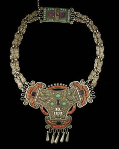Mexican silver necklace by Matilde Eugenia Poulat - $7680.