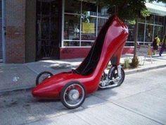 High Heel Shoe Motorcycle