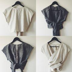 COLO/PALO linen wrap