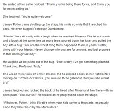 The Marauders and McGonagall  part 3 by http://minerva-mcgee.tumblr.com/