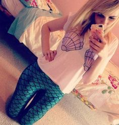 I love this mermaid costume!