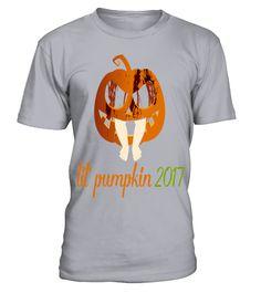 # Lil Pumpkin 2017 T shirt Cute Halloween Maternity Pregnancy Announcement .  Lil Pumpkin 2017 T-shirt Cute Halloween Maternity Pregnancy Announcement