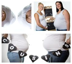 Baby bump, sisters and cousins,