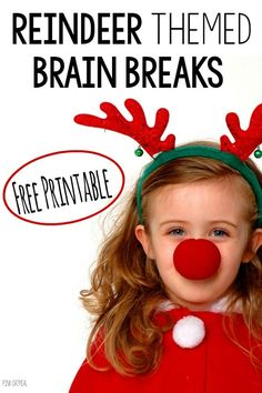 Who doesn't need a brain break around the holiday season?  Pink Oatmeal is here to make it easier for you.  Today we are sharing a set of brain break cards for FREE.  The Reindeer Run set of brain break cards for each of Santa's Reindeer.  They are designed to be fast, fun, and effective! Reindeer …