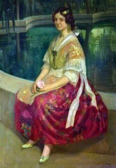 Valencianas Pintadas: Fernando Viscai Albert (Valencia, 1879-1931)
