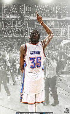 "36 Kevin Durant OKC Thunder USA NBA MVP Star 14""x23"" Poster | eBay"