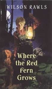 Where the Red Fern Grows- Wilson Rawls, read this in 5th grade because my best friend told me to, bawled like a baby and it's been my favorite book ever since, I also own this movie :)