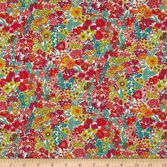 Liberty Fabrics Tana Lawn Margaret Annie Multi