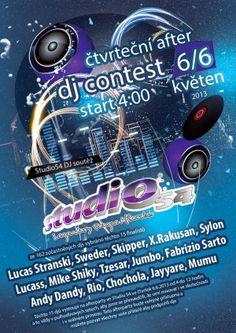 studio54 dj contest at Studio 54 in Prague