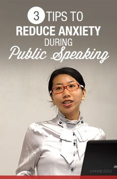 3 Tips to Reduce Anxiety During Public Speaking #college #tips