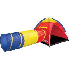 Discovery Kids 1008539 Discovery Kids Adventure Play Tent with Tunnel