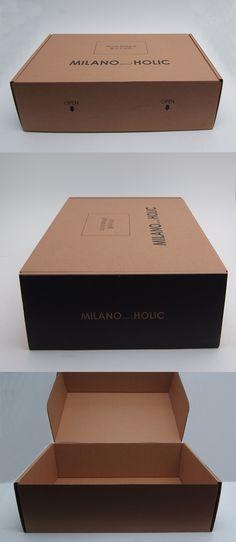 #W형 #조립박스 #골판지합지 #밀라노앤홀릭 패키지 #모아패키지 #패키지샘플 Box Cake, Container, Printed, Boxed Cake, Canisters