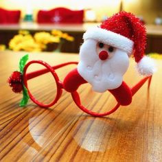 Cute Child Christmas Glasses Frame Creative Gifts For Children Christmas Toys Costume Party Decor