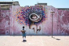 New piece by french street artist Vinie Graffiti.