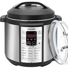 COSORI Multifunctional Programmable Electric Pressure Cooker, Rice Cooker, Slow Cooker with Stainless Steel Inner Pot, 6 Quart 10 Quart Pressure Cooker, Digital Pressure Cooker, Pressure Cooker Recipes, Pressure Cooking, Specialty Appliances, Small Appliances, Kitchen Appliances, Electric Pressure Cooker Reviews, Yogurt Maker