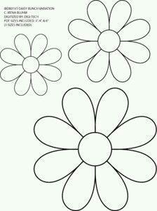 Znalezlismy Dla Ciebie Kilka Nowych Pinow Na Tabli Wp Poczta Patchwork Flores De Feltro Molde Flor Feltro