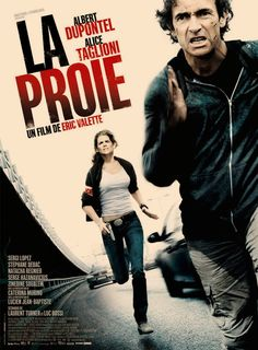 Official theatrical movie poster for The Prey [aka La proie]. Directed by Eric Valette. New Movie Posters, Jean Baptiste, Single Words, Serial Killers, Old Movies, Prison, Thriller, Crime, Actors