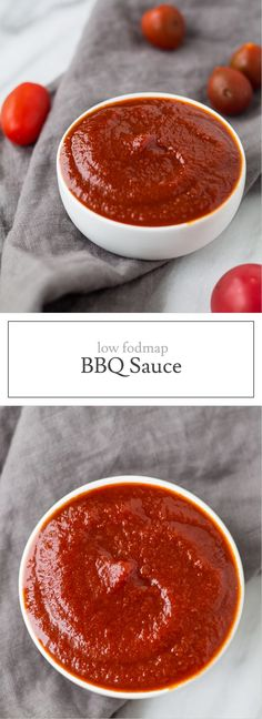 Another classic condiment turned low FODMAP - this Low FODMAP BBQ Sauce is perfect for pulled pork, chicken tenders and more!