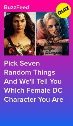 We can't all be Wonder Woman. Quizzes Funny, Random Quizzes, Quizzes For Fun, Girl Quizzes, Buzzfeed Personality Quiz, Personality Quizzes, Female Dc Characters, Disney Channel Quizzes, Princess Quizzes