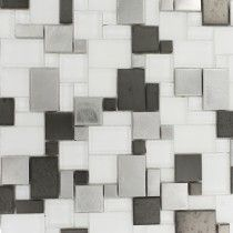 BREEZE STEEL ICE PIAZZA/ Backsplash