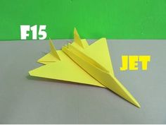 How To Make A Cool Paper Airplane That Flies Far  F  Youtube