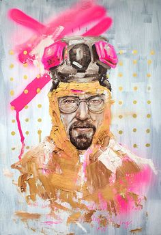 All Hail The King, Portraits of Walter White That Explore His Different Personas on 'Breaking Bad' Walter White, Art Breaking Bad, Breaking Bad Series, Canvas Artwork, Canvas Prints, Hip Hop Art, Heisenberg, Billie Holiday, Animal Tattoos