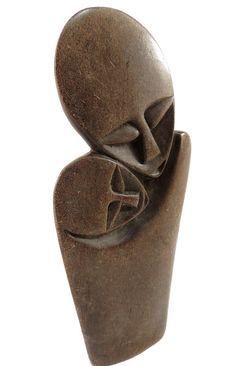 Shona Stone: LOVERS Sculpture Zimbabwe by klemcoimport on Etsy