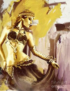 Corporate Art Task Force - Abstract Belly Dancer 18