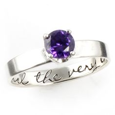 """Harry Potter """"Until the Very End"""" Engagement Ring - Spiffing Jewelry"""