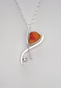 Sea Glass Jewelry  Sterling Extreamely Rare by SignetureLine