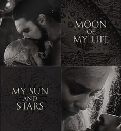 """Jalan atthirar anni"" - Moon of my life    ""Shekh ma shieraki anni"" - My sun and stars"