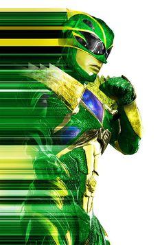 Movie style gold ranger