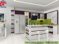 Những mẫu tủ bếp đẹp rạng ngời năm mới PTL01