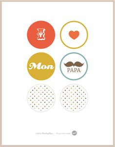 Free printable (toppers)